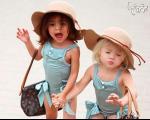 این دو کودک نوپا، ستاره مد شده اند! +عکس