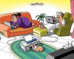 کاریکاتور خنده دار: جدیدترین روش بچه دار شدن!