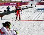 دختـر اسکی بـاز ایرانـی در المپیک سوچی/تصویر
