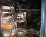 نانوایی بازار در آتش سوخت و دو کارگر نانوایی مصدوم شدند