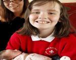 دختر 10 ساله ای که مادر باردارش را زایمان کرد!! + عکس
