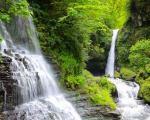 آبشار زمرد، یکی از زیباترین آبشار های ایران