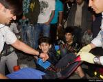 عکس: تصادف شدید خودروها در میدان توحید
