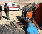 بر اثر واژگونی اتوبوس ۶ نفر فوت و ۱۴ نفر مجروح شدند