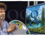 گوگل به احترام نقاش بزرگ آمریکایی تغییر لگو داد!!+تصاویر