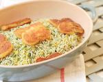 سبزی پلوی شب عید مخصوص گیاهخوارها
