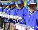 توزیع شیر رایگان در مدارس ایلام آغاز شد