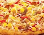 طرز تهیه پیتزا مخلوط با انبه
