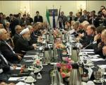 روحانی: مانعی برای همکاری شرکتهای فرانسوی و ایرانی وجود ندارد