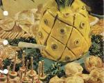 خلاقیت جالب و دیدنی آشپزهای قدیمی در تزئین غذا+ تصاویر