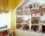 ایده های چیدمان عروسک و اسباب بازی در اتاق کودک