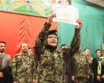 فارغ التحصیلی زنان ارتشی افغان +عکس