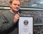 شکستن رکورد گینس با ۳ میلیون قطعه استیل به صورت موزائیک