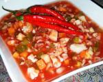 طرز تهیه انواع ترشی با گوجه فرنگی