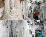 شگفتی های یخ زده طبیعت+عکس
