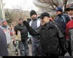 حسن روحانی در ارتفاعات تهران