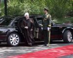 خودرو تشریفات روحانی در چین  (+عکس)