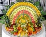 نمونه هایی از میوه آرایی های شیک