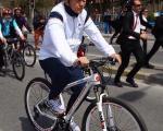 دوچرخه سواری اردوغان خبرساز شد/عکس
