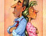 تفاوت طرز فکر زنها و مرد ها+طنز