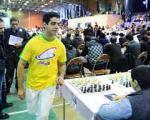 استاد بزرگ شطرنج ایران وارد گینس شد + عکس