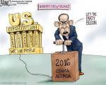 کاریکاتور: نقشه اوباما برای 2016!