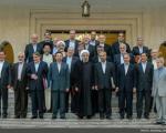 وزرای روحانی بعد از اولین جلسه هیات دولت در جمع خبرنگاران چه گفتند؟