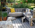 طراحی دکوراسیون فضای بیرونی و باغچه منزل