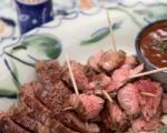 طرز تهیه کباب گوشت شتر مرغ !