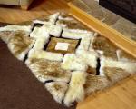 مدل فرش از پوست حیوانات