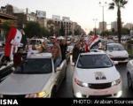 جشن تولد اسد در سوریه