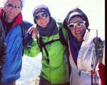ویشکا آسایش در مسابقه خیریه اسکی آلپاین