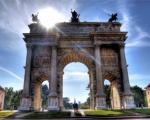 طاق صلح در میلان ایتالیا (+تصاویر)