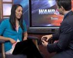 جلسه خواستگاری آقای رومانتیک در برنامه زنده تلوزیونی +تصاویر