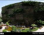 بزرگترین باغچه عمودی جهان در تهران!