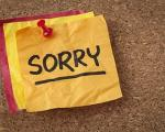 عذر خواهی کردن،چگونه عذرخواهی کنیم؟