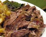 طرز تهیه ی گوشت بره و سس لیمو (غذای یونانی)