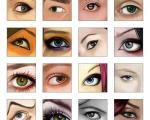 قبل از آرایش چشم ها