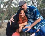 ازدواج زن ریش دار با مرد خرچنگی! + تصاویر