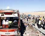 اعلام هویت كشته ها و مجروحان واژگونی اتوبوس زائران سوریه