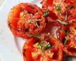 طرز تهیه گوجه فرنگی کبابی