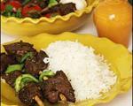 طرز تهیه کباب ترش غذای محلی گیلانی