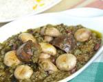 طرز تهیه قورمه سبزی گیاهی