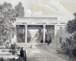 آرامگاه حافظ 200 سال پیش +عکس