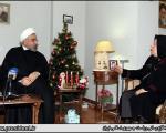 عکس: دیدار روحانی با خانواده شهدای ارامنه