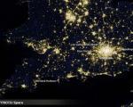 شبهای المپیك از چشمانداز فضا