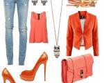 راهنمای انتخاب رنگ لباس نارنجی