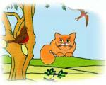 قصه زیبای گربه ي تنها