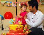 جشن تولد پناه دختر شاهرخ استخری + عکس