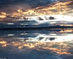 تصاویر رویایی از قدم نهادن بر آسمان